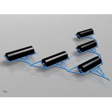 Катки водоналивные КВНП-10 (720) (прицепной)