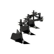 Тройной окучник для минитрактора